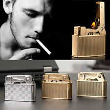 1Classical Metal windproof Refillable Kerosene oil Cigarette Flame Cigar Lighter