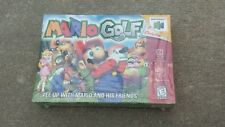 Mario Golf  n64.  Brand new. Sealed  box.