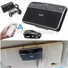 Wireless Bluetooth Silm Car Speaker Phone Handsfree MP3 Kit Sun Visor Clip Drive