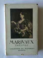 MARIVAUX THEATRE COLLECTION FLAMBEAU 1951