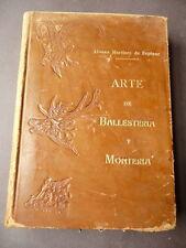 Tiro con arco Uccellagione Cani Caccia Martinez de Espinar Arte Ballestriera1946