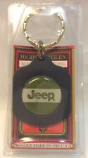 Car Dealership Logo Keychain ~ JEEP ~ Ancien Porte-Cle Flambant Neuf ~ USA ~ NOS