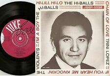 THE HI-BALLS I`M A BOY THE WHO VIOLENTS T LOPEZ SWEDISH EP+PS 1966 FREAKBEAT MOD