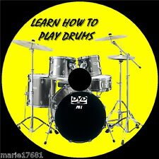 LEARN HOW TO PLAY DRUMS OVER 2Hr BEGINNERS TUTORIAL EASY TO FOLLOW GUIDE NEW DVD