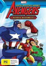 Marvel - The Avengers - Heroes Assemble! (DVD, 2011, R4) BRAND NEW SEALED!