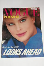 Vogue Magazine January 1983, Thomas Keneally/Venice Fashion/Emma Sergeant/Beauty