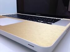 """Textured Carbon / Metal Skin Kit For MacBook Pro 17""""  Stylish Protector Wrap"""