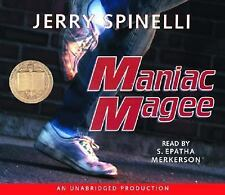 Maniac Magee by Jerry Spinelli (2005, CD, Unabridged)
