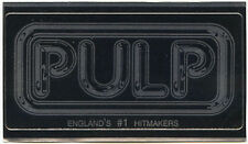PULP (band) Different Class 1995 promo STICKER decal England's #1 Hitmakers