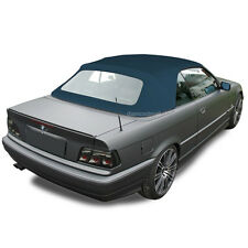 BMW 3-Series 1994-1999 E36 Convertible Soft Top & Plastic Window Blue Twill