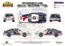 [FFSMC Productions] Decals 1/24 Porsche 911 Kronos # 16 East African Safari 2013
