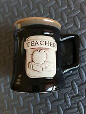 Teacher Stoneware Coffee Mug Cup Abbey Press Great Condition