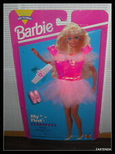 NRFP 1995 MATTEL BARBIE BARBIE DOLL PINK OUTFIT MY FIRST  FASHION  ACCESSORY