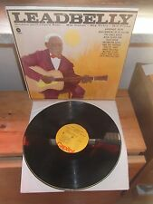"""LEADBELLY """"Huddie Ledbetter's Best..His Guitar-His Voice-His Piano"""" LP CAPITOL"""