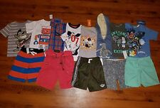 NWT Boys Summer Clothes Lot ~SIZE 4 /4T~ Shirts Shorts Brand Names