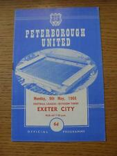 09/05/1966 Peterborough United v Exeter City  (No apparent faults).
