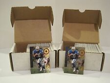 LOT OF 2 1994 SP FOOTBALL COMPLETE SETS CARDS #1-200 MARSHALL FAULK ROOKIES!!!!!