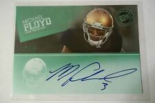 Press Pass Michael Floyd Wal-mart Green AUTO autograph #12/15 Rookie RC
