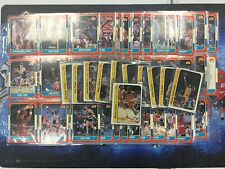 1986-87 Fleer Basketball Set With Complete Sticker Set Minus Michael Jordan RC