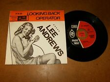 LEE ANDREWS - OPERATOR / LOOKING BACK  - 45 PS HOLLAND / LISTEN - SOUL POPCORN