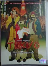 Tokyo Godfathers [Satoshi Kon] New Dvd All Regions, Animation, Adventure, Japan