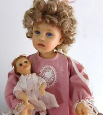 """MARY"" Memories of Childhood Resin Doll Goebel Richard Simmons COA MINT RARE"