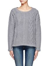 Rag & Bone Oversized Grey Wool/Cashmere Sweater XS/S
