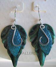 Jody Coyote Earrings JC0672 new silver green eden SMC118-01 dangle blue 2
