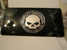 HARLEY DAVIDSON WILLIE G  LICENCE PLATE for any car or truck