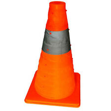 "45 CM 18""Folding Collapsible Traffic Multi Purpose Pop up Reflective Safety Cone"