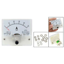85C1 DC 0-50A Rectangle Analog Panel Ammeter Gauge SY Hot