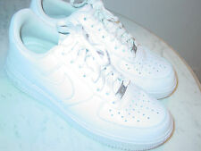 2014 Nike Air Force One 07 White Leather Low Shoes! Size 8 $109.95