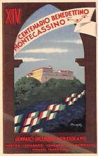 3132) MONTECASSINO (FROSINONE) XIV CENTENARIO BENEDETTINO. ILL. MINGOZZI.