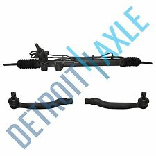 Complete Power Steering Rack & Pinion + Both Outer Tie Rods Honda Acura