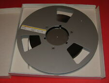 "10"" Adams Aluminum Metal Reel 1/2"" Audio Recording Tape NAB vintage Retail Music"