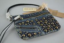 DIESEL JEENA  Clutch Handtasche Beuteltasche Damen Tasche Abendtasche bag jeans