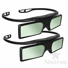 [Sintron] 2X 3D Active Glasses for Epson PowerLite Home Cinema 750HD Projector