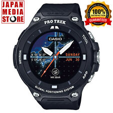 CASIO PRO TREK WSD-F20-BK Smart Outdoor Watch Android Wear Smartwatch GPS JAPAN