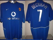 Manchester United David BECKHAM Jersey Shirt Adult XXL Soccer Football Nike Utd