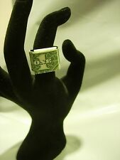 USA RING Money ORIGAMI Art Gift Made out of Real $1 DOLLAR Bill Banknote JEWELRY