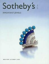 Sotheby's /// Jewels Jewelry Auction Catalog Arpels Auction Catalog 2003