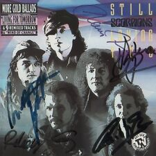 """Scorpions Autogramme signed CD Booklet """"Still Loving You"""""""