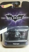 HOT WHEELS 2015 RETRO EXCLUSIVE THE DARK KNIGHT RISES THE BAT 1/64 SPECIAL PRICE