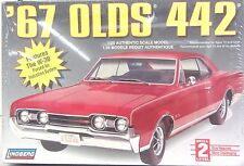 New Sealed Lindberg '67 Olds 442 Features W-30 Forced Air Induction System