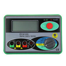 Update DY4100 Digital Earth Ground Resistance Tester Meter 2000Ω