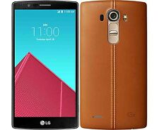 NEW LG G4 LEATHER BACK COVER - 32GB  3GB RAM - 4G -  3000 mAh -16MP 8MP