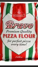 16kg Wrights BRAVO Pizza Farina sacco per Deep Pan crosta sottile impasto TAKE AWAY Shop