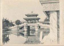 Original Photo Summer Palace Beijing China C1900