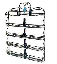 High Quality Metal Nail Polish Display Organizer Wall Rack-hold 50 to 80 Bottles