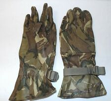 MTP CAMO LEATHER WARM WEATER COMBAT GLOVES - Size: 10 , British Army Issue